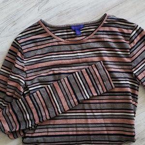 EUC Aeropostale Glittery LS Shirt Size S - Worn 1x